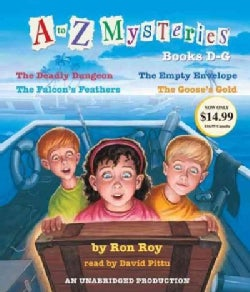 A to Z Mysteries Books D-g (CD-Audio)