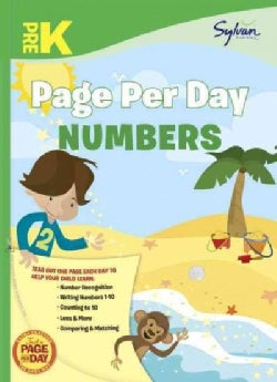 Pre-K Page Per Day: Numbers (Paperback)