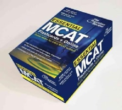 The Princeton Review Essential MCAT: Flashcards + Online, Quick Review for Every Mcat Subject (Cards)