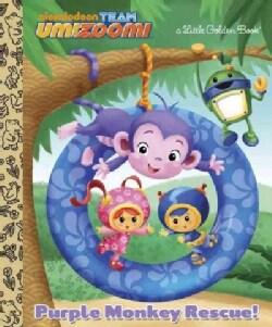 Purple Monkey Rescue! (Hardcover)