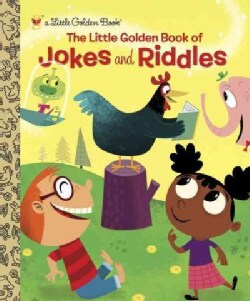 The Little Golden Book of Jokes and Riddles (Hardcover)