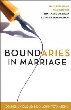 Boundaries in Marriage (Paperback)