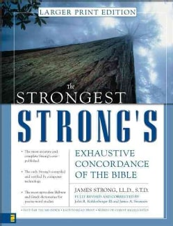 The Strongest Strong's Exhaustive Concordance of the Bible (Hardcover)