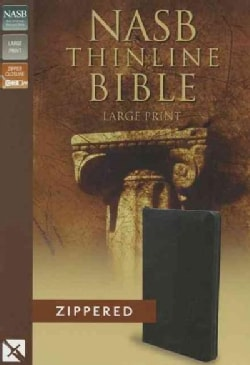 Holy Bible: New American Standard, Black Bonded Leather, Thinline (Paperback)