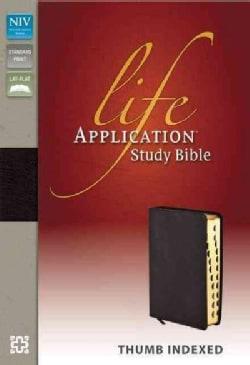 Life Application Study Bible: New International Version Burgundy Bonded Leather (Paperback)
