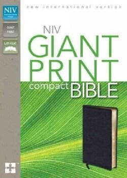 Holy Bible: New International Version, Black, Bonded Leather, Giant Print (Paperback)