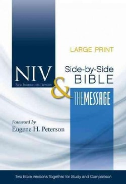 Holy Bible: NIV & The Message Side-by-Side Bible (Hardcover)