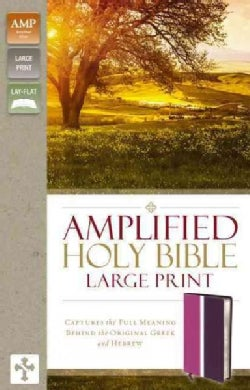 Holy Bible: Amplified Holy Bible, Dark Orchid/Deep Plum, Italian Duo-tone; Captures the Full Meaning Behind the O... (Paperback)