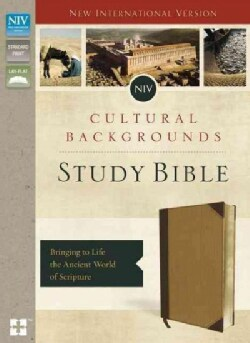 Cultural Backgrounds Study Bible: Bringing to Life the Ancient World of Scripture: New International Version, Imi... (Paperback)