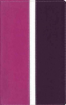 Holy Bible: Amplified Holy Bible, Imitation Leather, Pink/Purple: Captures the Full Meaning Behind the Original G... (Paperback)