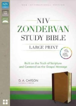 Zondervan Study Bible: Built on the Truth of Scripture and Centered on the Gospel Message: New International Vers... (Paperback)