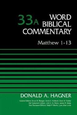 Matthew 1-13 (Hardcover)