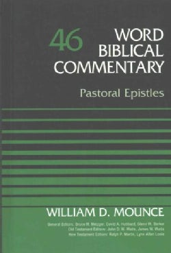Word Biblical Commentary: Pastoral Epistles (Hardcover)