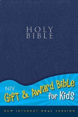Holy Bible: New International Version, Navy, Leather-Look, Gift & Award Bible for Kids (Paperback)
