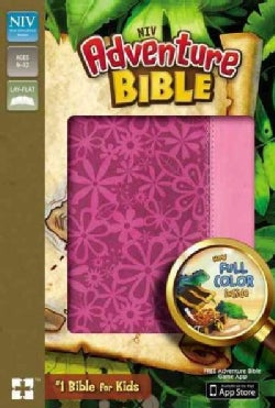 Adventure Bible: New International Version, Raspberry / Pink, Italian Duo-Tone (Paperback)