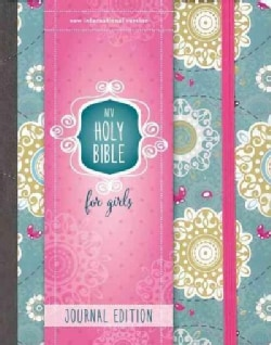 Holy Bible: Niv Holy Bible for Girls, Journal Edition, Turquoise, Elastic Closure (Hardcover)