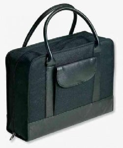 Bible Study Organizer Coal With Leather-look Accents (Organizer)