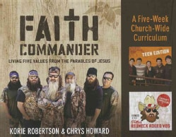 Faith Commander Church Curriculum Kit: Living Five Values from the Parables of Jesus