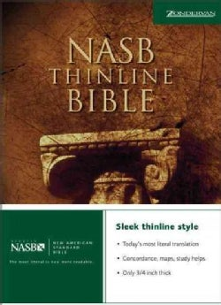 New American Standard Bible Thinline (Hardcover)