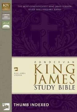 King James Study Bible: Black, Bonded Leather (Paperback)