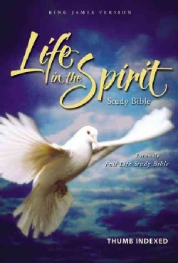 Life in the Spirit Study Bible: King James Version, Burgundy, Bonded Leather (Hardcover)