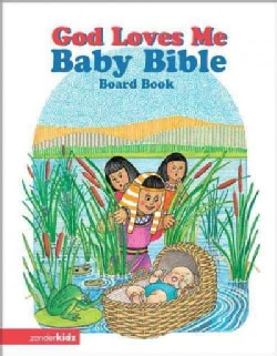 God Loves Me Baby Bible (Board book)