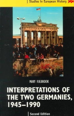 Interpretations of the Two Germanies (Paperback)
