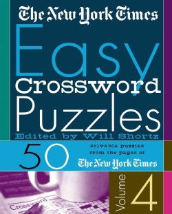 The New York Times Easy Crossword Puzzles: 50 Solvable Puzzles from the Pages of the New York Times (Spiral bound)