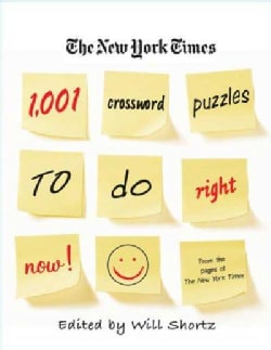 The New York Times 1,001 Crossword Puzzles to Do Right Now (Paperback)