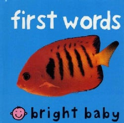 Bright Baby First Words (Hardcover)