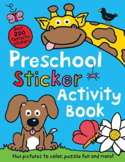 Preschool Color and Activity Book (Paperback)