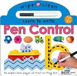Wipe Clean Pen Control (Board book)