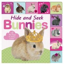 Hide and Seek Bunnies (Board book)