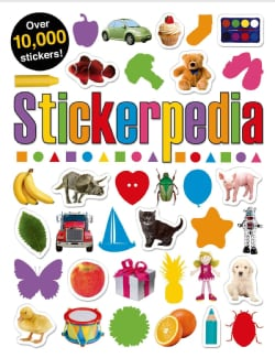 Stickerpedia: Packed With Fascinating Facts, Absorbing Activities, and Stickers Galore! (Paperback)