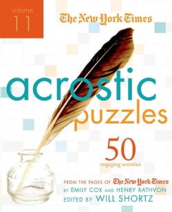 The New York Times Acrostic Puzzles: 50 Engaging Acrostics from the Pages of the New York Times (Paperback)