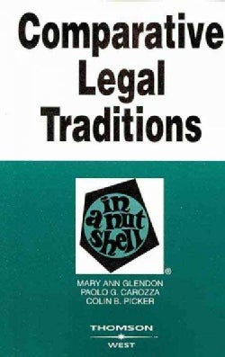 Comparative Legal Traditions in a Nutshell (Paperback)