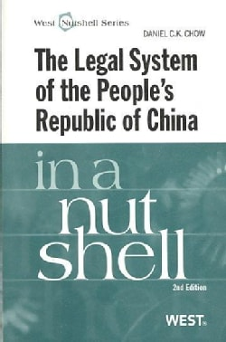 The Legal System of the People's Republic of China in a Nutshell (Paperback)