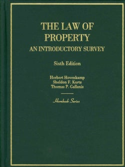 The Law of Property: An Introductory Survey (Hardcover)