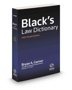 Blacks Law Dictionary (Paperback)
