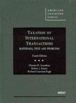 Taxation of International Transactions (Hardcover)