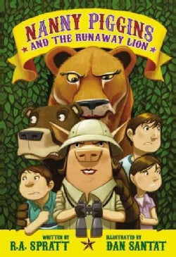 Nanny Piggins and the Runaway Lion (Hardcover)