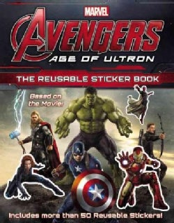 Marvel's Avengers: Age of Ultron: The Reusable Sticker Book (Paperback)