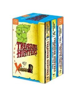 Treasure Hunters / Danger Down the Nile / Secret of the Forbidden City (Hardcover)