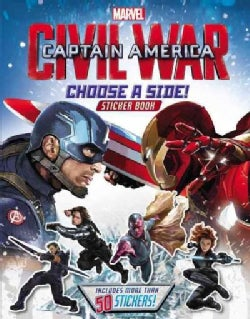 Marvel's Captain America Civil War: Choose a Side! (Paperback)