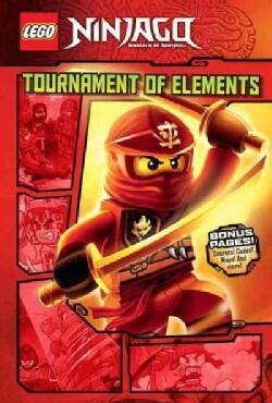 Lego Ninjago 1: Tournament of Elements (Hardcover)