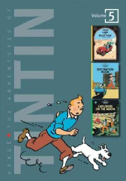 Adventures of Tintin: Land of Black Gold / Destination Moon / Explorers on the Moon (Hardcover)