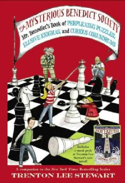 Mr. Benedict's Book of Perplexing Puzzles, Elusive Enigmas, and Curious Conundrums (Paperback)
