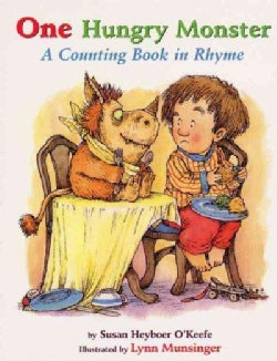 One Hungry Monster: A Counting Book in Rhyme (Board book)