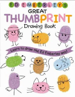 Ed Emberley's Great Thumbprint Drawing Book (Paperback)