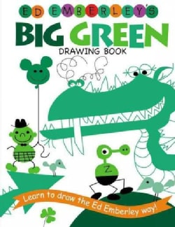 Ed Emberley's Big Green Drawing Book (Paperback)